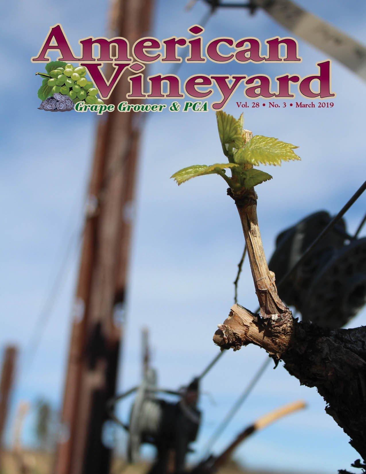 American Vineyard Magazine March 2019