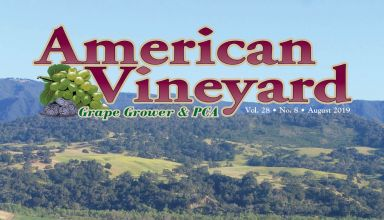 American Vineyard Magazine August 2019