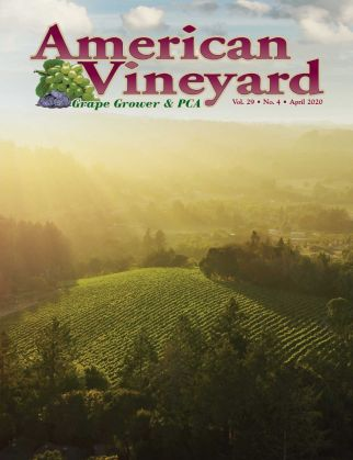 American Vineyard Magazine April Issue