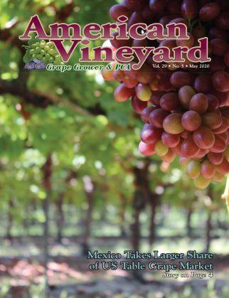 American Vineyard Magazine May Issue
